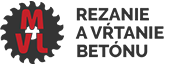 Rezanie a vŕtanie betónu – MVL Logo